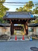 塚口御坊(塚口城)跡の正玄寺 山門…