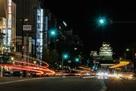 姫路駅前より、夜景…