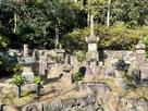 花岳寺 東条吉良氏の墓所…