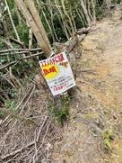 小倉山方面の天王山周辺ルートは…