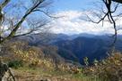 本丸から望む剣岳…