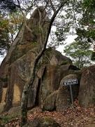 見張り台の巨岩…