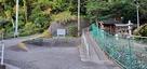 浅間神社西隣の駐車スペース…