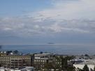 西の丸から眺める琵琶湖…