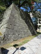 御門の石垣