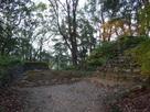 本丸石垣と礎石