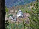 郡上八幡城を見下ろす(山頂より)…