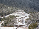 冬の赤木城
