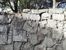 矢穴石の石垣