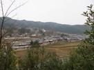 丸山城から遠景…