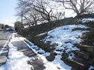 船町口虎口石垣内側の階段…