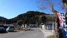 麓の道の駅かつらから御前山を眺める…