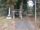十二所神社(登城口)…