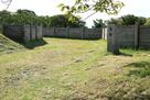 北館入口の柵