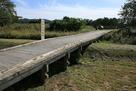 外郭から北館への二重堀と橋…