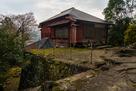 久留島陣屋の栖鳳楼と石垣…