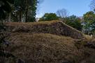 二の丸西曲輪の石垣…