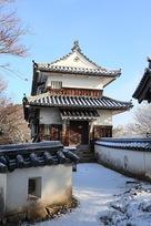 雪の二重櫓