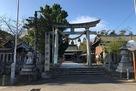 本丸に建つ小浜神社…