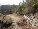 水門跡の石積