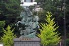 北条早雲公の像…