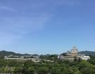 姫路城を一望