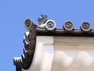 桜門にある五三桐の瓦…