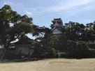 烏 岡山の城