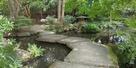 庭園の水堀