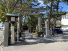 菟橋神社 参道