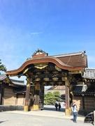 二の丸御殿の唐門…