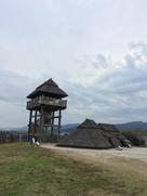 南内郭の物見櫓…