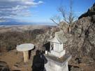 東郭の物見岩からの眼下の市街地…