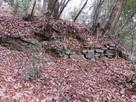 横堀の石積み
