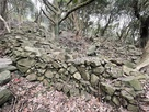 古井戸周りの石垣…