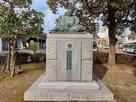 小早川隆景公銅像…