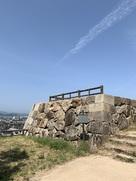 三階櫓台の石垣…