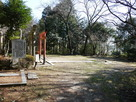 稲荷神社のある曲輪…