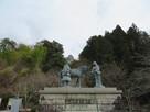 山内一豊と妻の像…