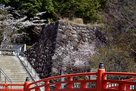 神橋と石垣