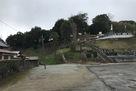 天倫寺から上方を見る…