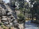 関東では珍しい高石垣…