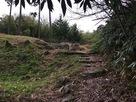 虎口前の階段