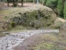 一ノ門付近の石垣…