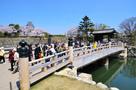 桜門橋と大手門(改修前)…