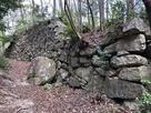 15曲輪南西側石垣…