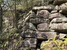 24曲輪南東側石垣…