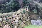 裏中御門横の石垣…