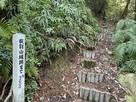 日吉神社から登口…