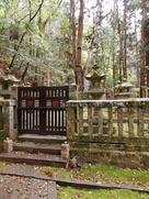 毛利元就公の墓所…